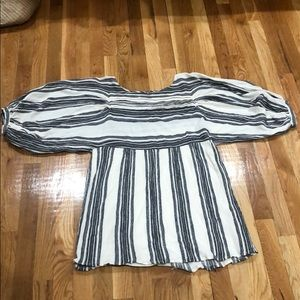NEVER WORN: Free People Striped Cotton Dress
